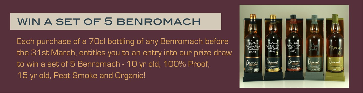 Win a set of 5 Benromach