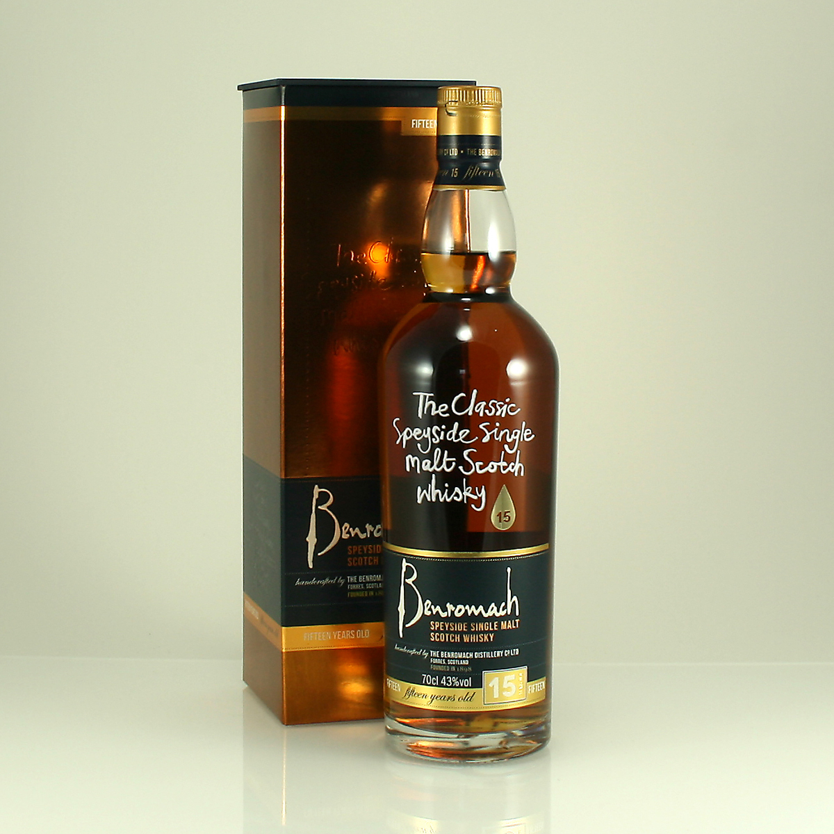 BENROMACH 15 Y/O 43% 70cl