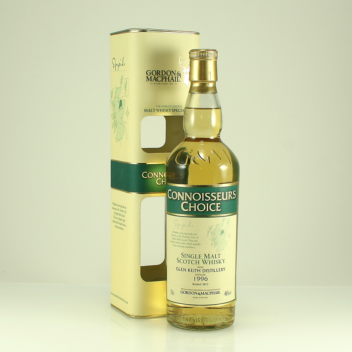 GLEN KEITH 1996 Connoisseurs Choice 46% 70cl