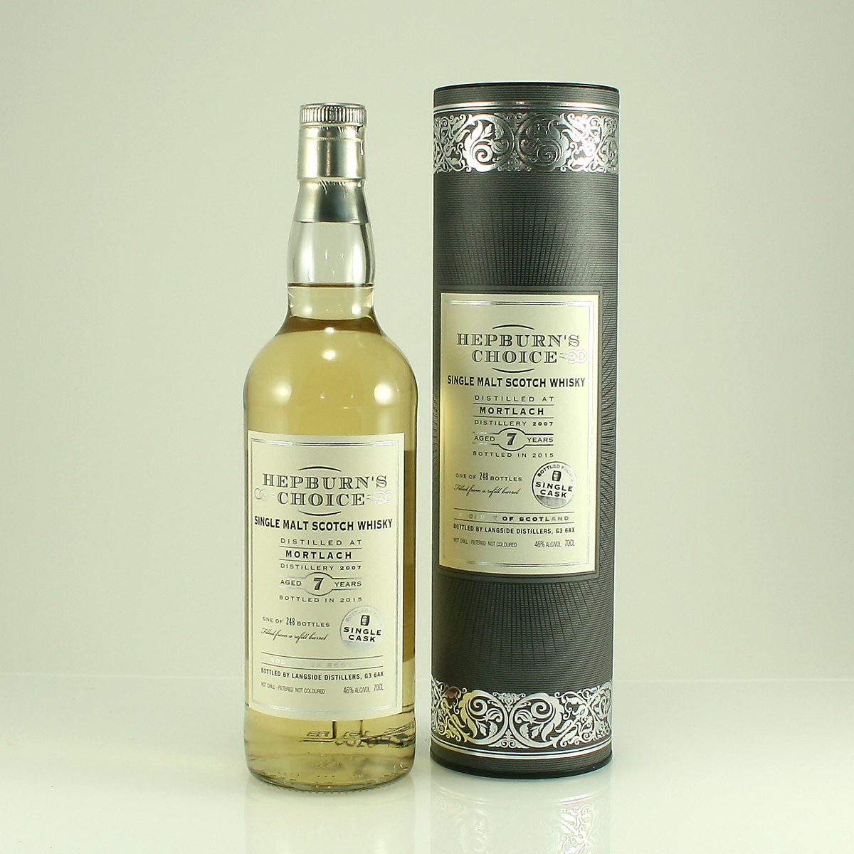 MORTLACH 7 Y/O Hepburn's Choice 46% 70cl