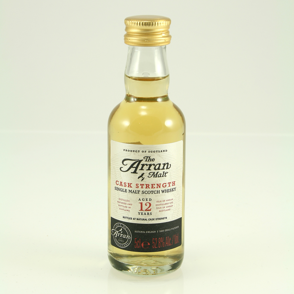 ARRAN 12 Y/O Cask Strength Edition 52.8% 5cl
