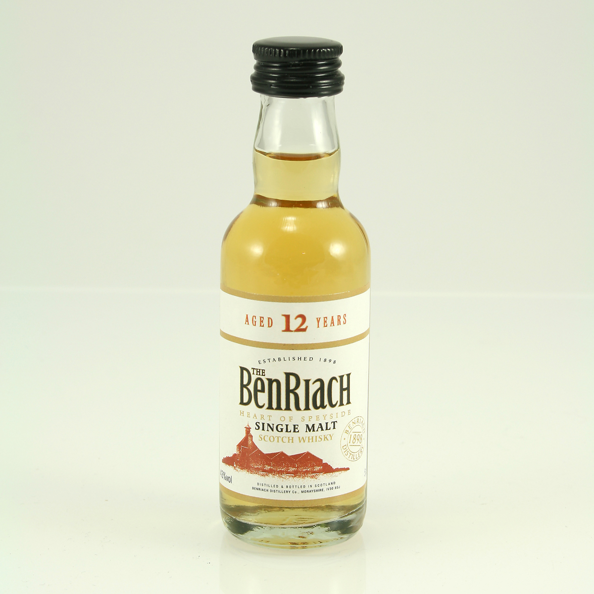 BENRIACH 12 Y/O Sherry Matured 46% 5cl
