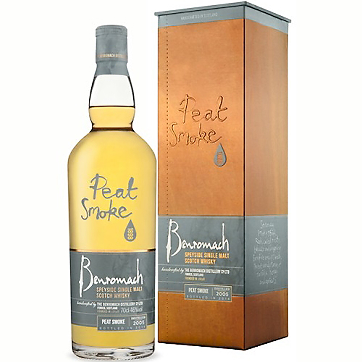 BENROMACH PEAT SMOKE 46% 70cl