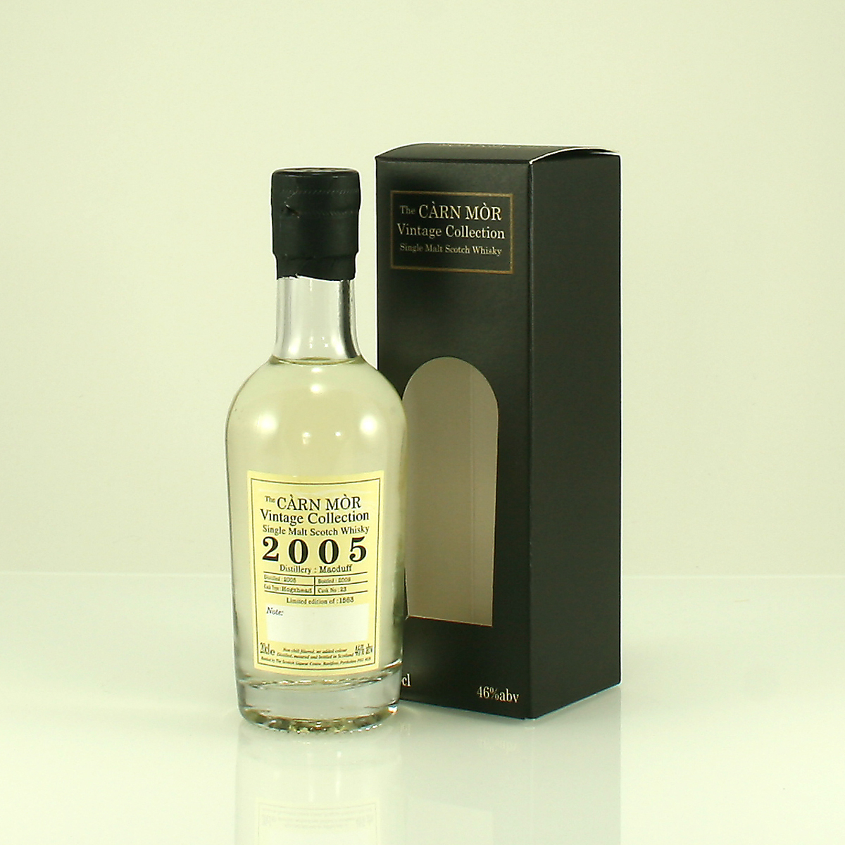 Can Mor Vintage Collection MacDuff 2005 20cl 46%