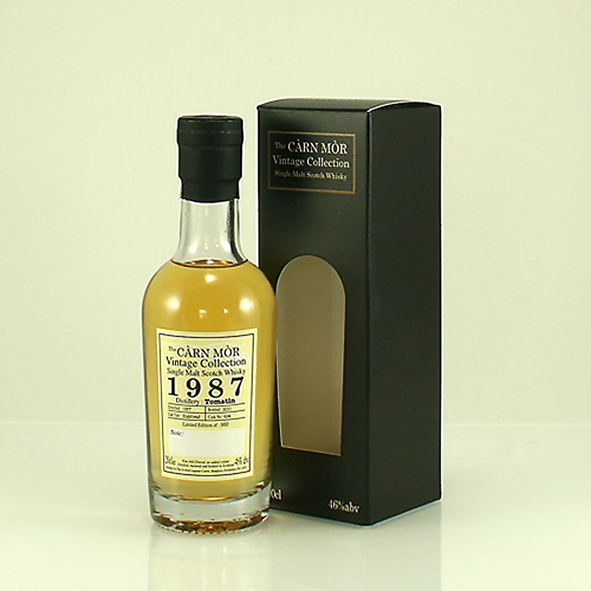 TOMATIN 1987 Carn Mor Vintage Collection 46% 20cl