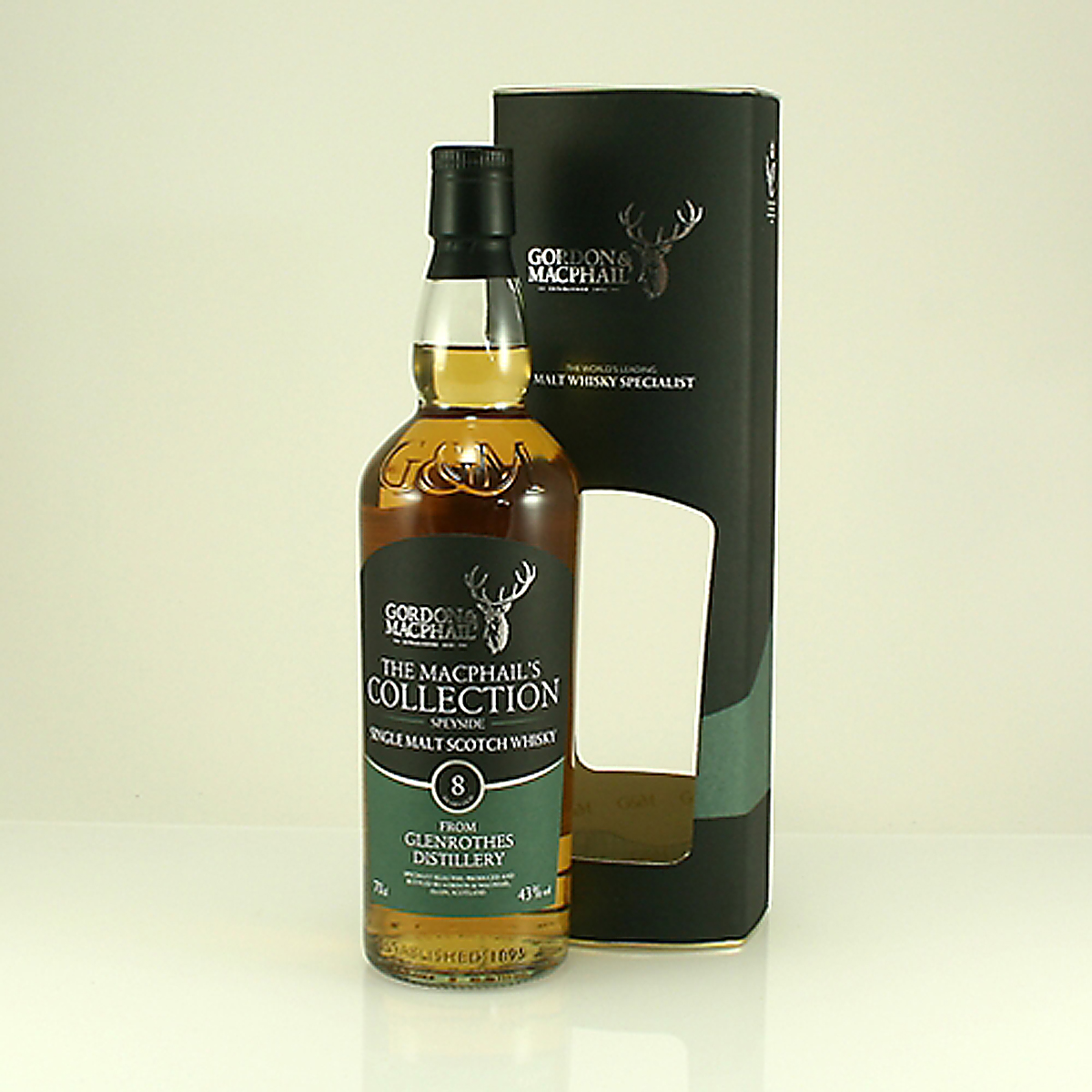 GLENROTHES 8 Y/O MacPhail's Collection 43% 70cl