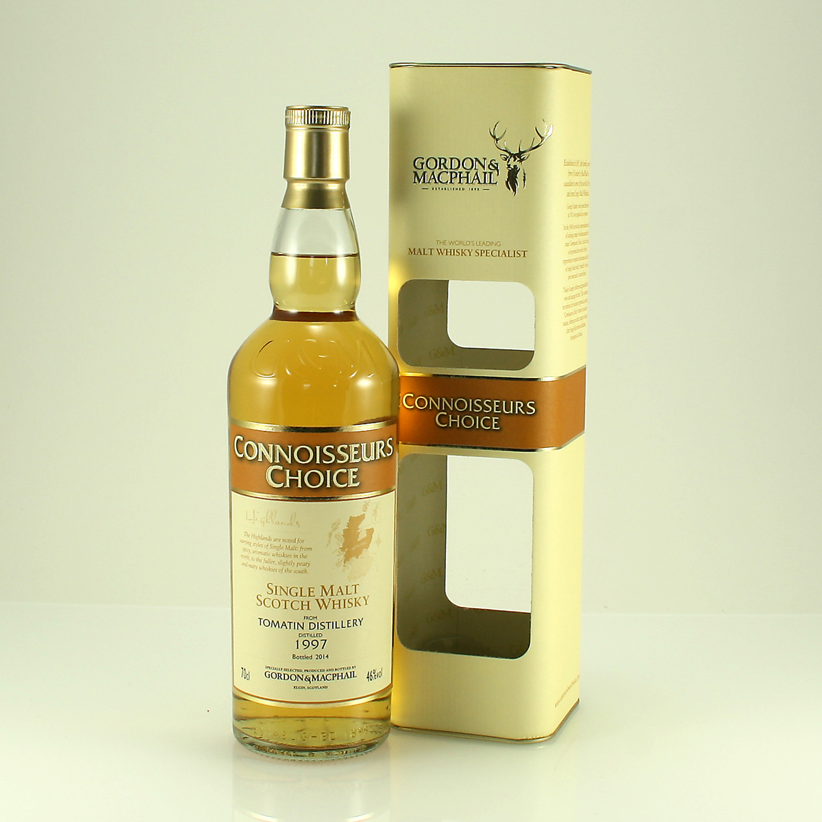 TOMATIN 1997 Connoisseurs Choice 46% 70cl