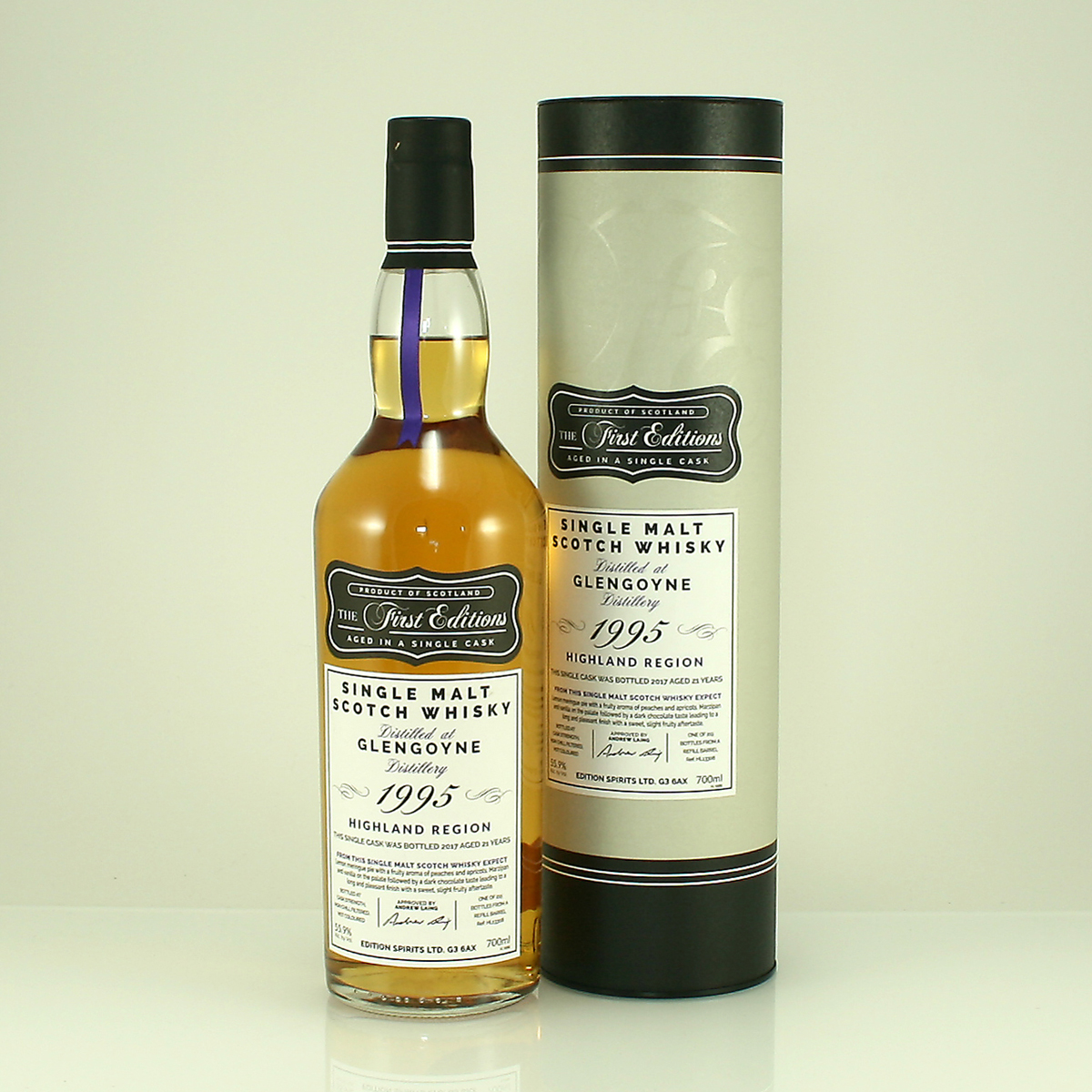 GLENGOYNE 1995 First Editon's 55.9% 70cl