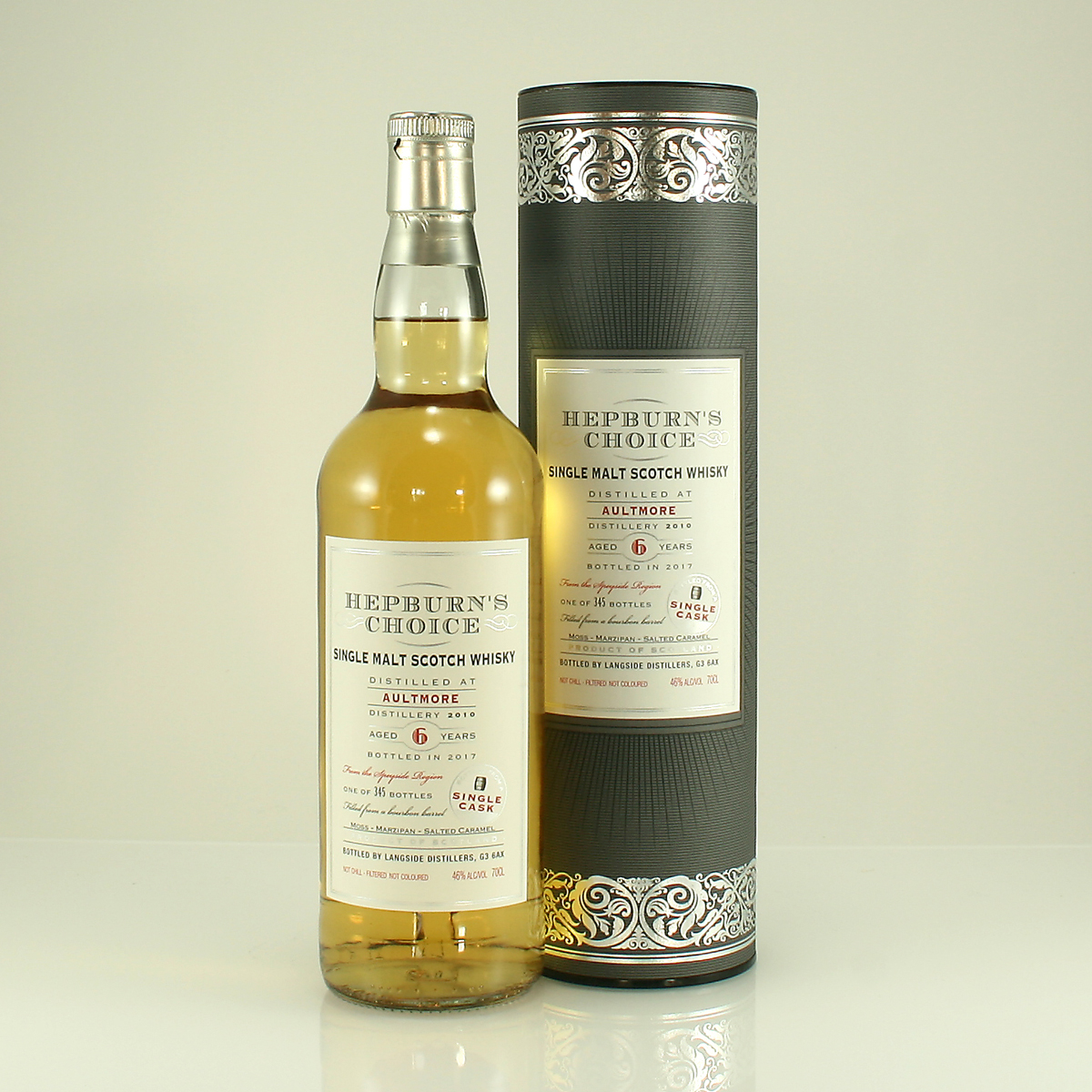 AULTMORE 6 Y/O Hepburns Choice 46% 70cl