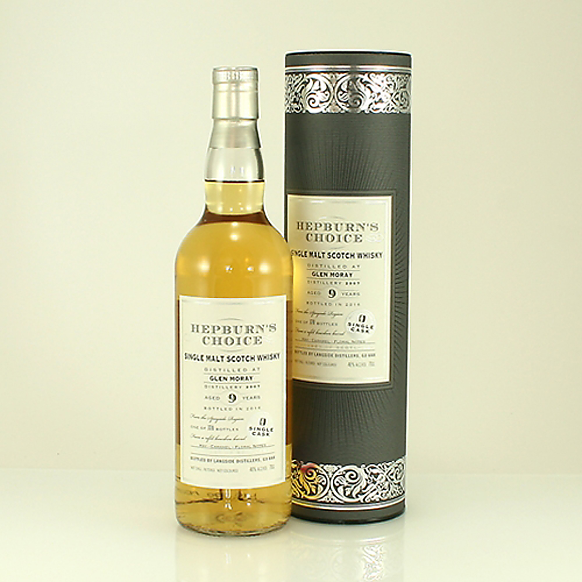 GLEN MORAY 9 Y/O Hepburns Choice 46% 70cl