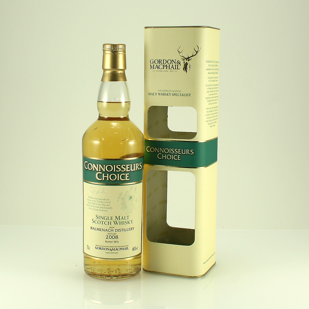 BALMENACH Connoisseurs Choice 2008 46% 70cl