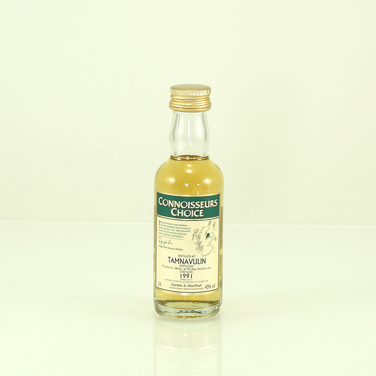 TAMNAVULIN 1991 Connoisseurs Choice 43% 5cl