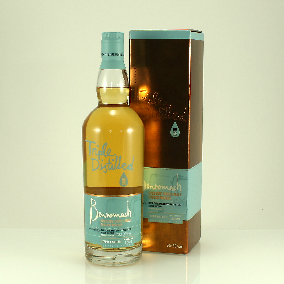 BENROMACH 7 Y/O Triple Distilled 50% 70cl