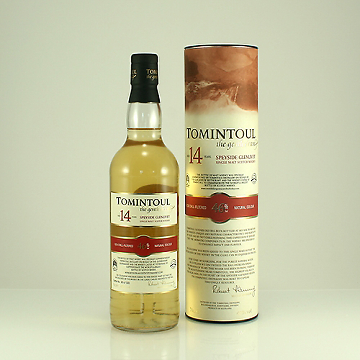 TOMINTOUL 14 Y/O Commemorative Bottling 46% 70cl