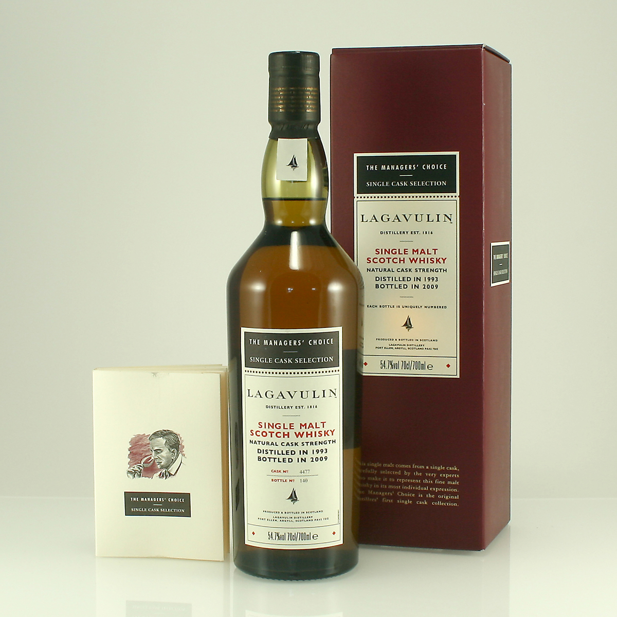 LAGAVULIN 1993 Managers' Choice 54.7% 70cl