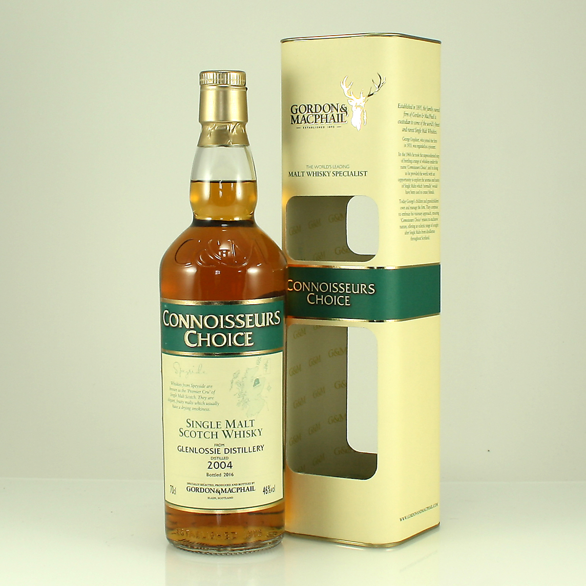 GLENLOSSIE 2004 Connoisseurs Choice 46% 70cl