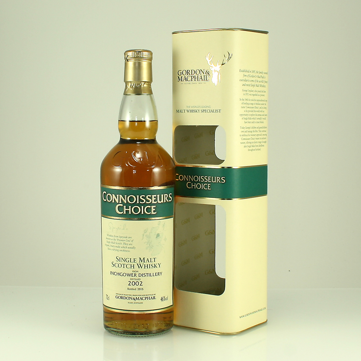 INCHGOWER 2002 Connoisseurs Choice 46% 70cl