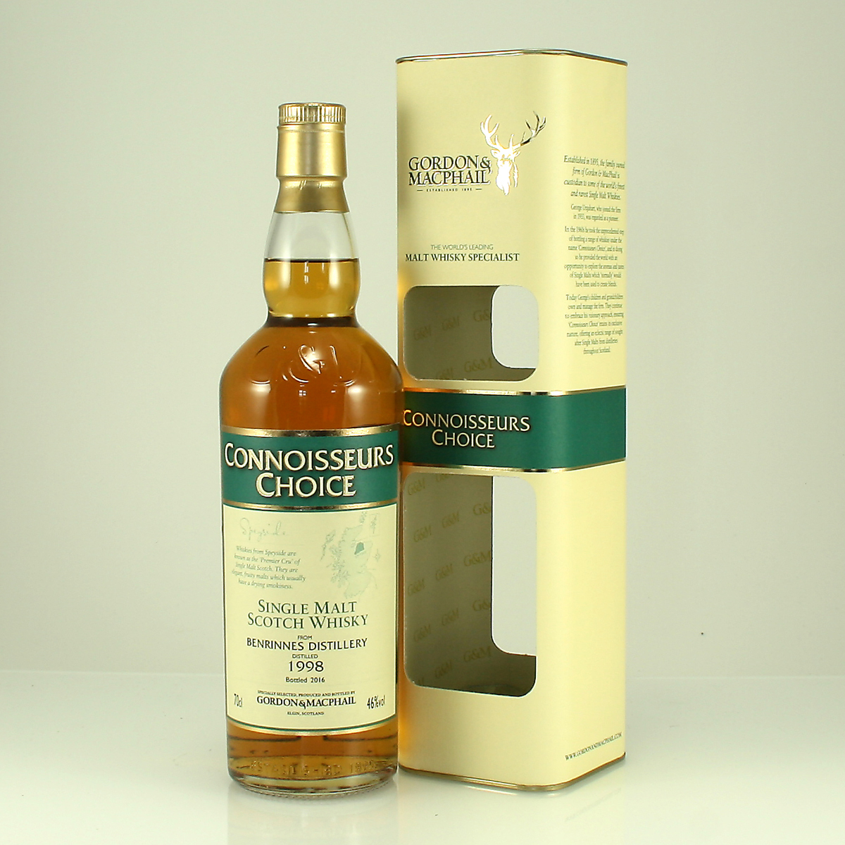 BENRINNES 1998 Connoisseurs Choice 46% 70cl