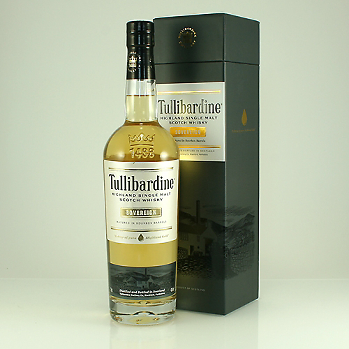 TULLIBARDINE Sovereign 70cl 43%