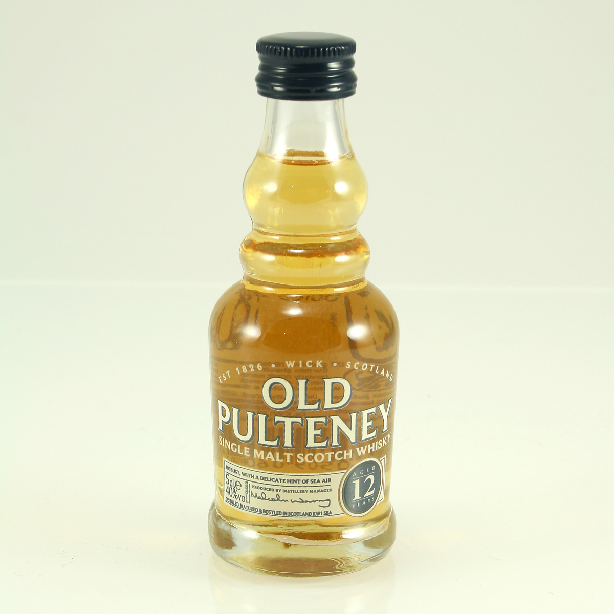 OLD PULTENEY 12 Y/O 40% 5cl