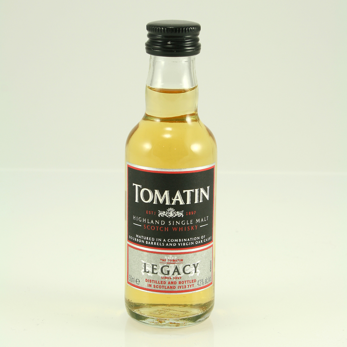 TOMATIN Legacy 43% 5cl