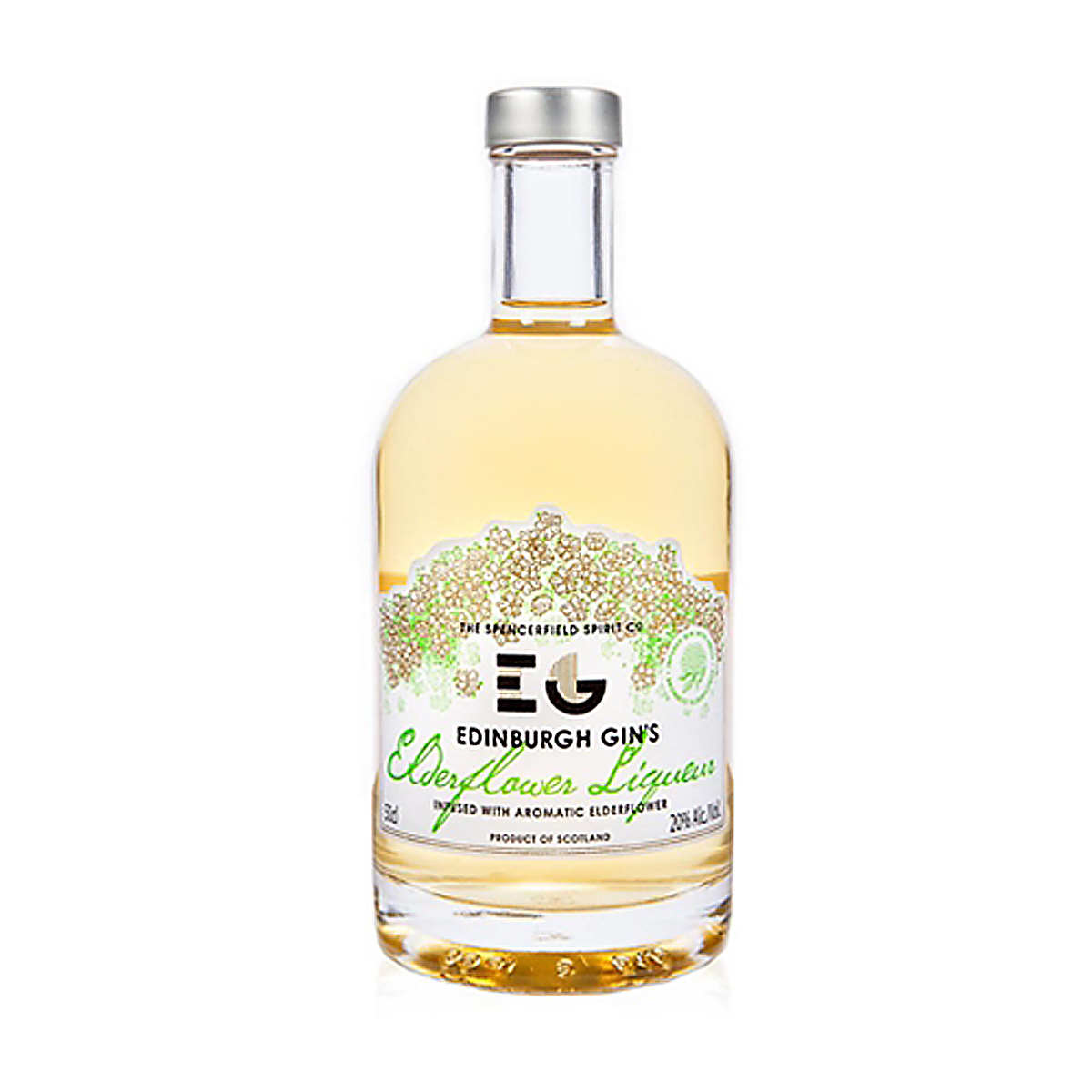 EDINBURGH Elderflower Gin 20% 50cl