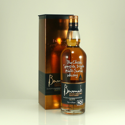 BENROMACH 10 Y/O 43% 70cl
