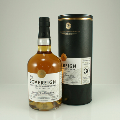 INVERGORDON 1984 30 Y/O The Soverign 59.6% 70cl