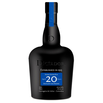 DICTADOR Solera System Rum Aged 20 Years 70cl 40%