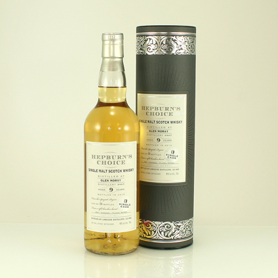 GLEN MORAY 7 Y/O Hepburn's Choice 46% 20cl