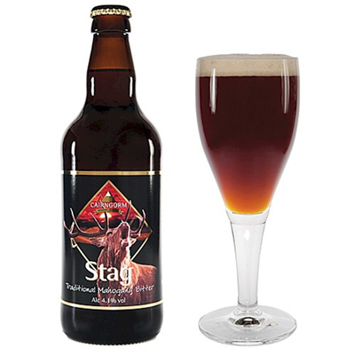 Cairngorm Brewery - Stag Traditional Mahogany Bitter 4.1%
