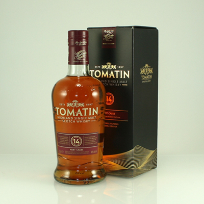 TOMATIN 14 Y/O Portwood Finish 46% 70cl
