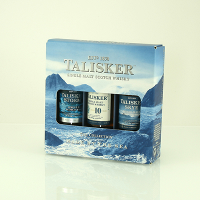 TALISKER Triple Gift Pack 3x5cl