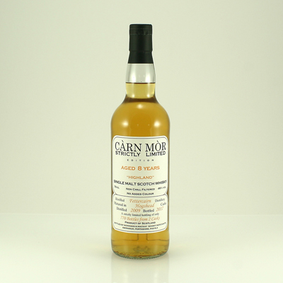 FETTERCAIRN 8 Y/O Carn Mor Strictly Limited 46% 70cl