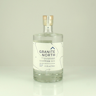 GRANITE NORTH SCOTTISH GIN 41.9% 70cl