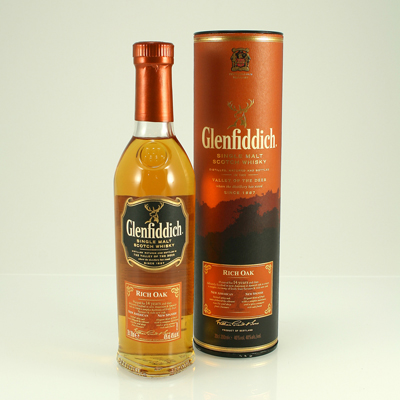 GLENFIDDICH 14 Y/O Rich Oak 40% 70cl